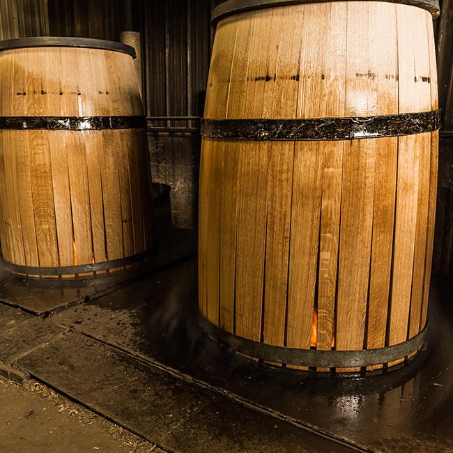 Hình dạng thùng gỗ sồi