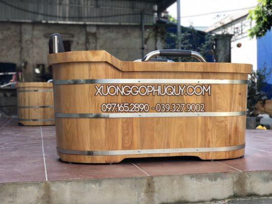mẫu bồn tắm gỗ