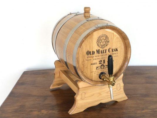 Mẫu thùng gỗ ngâm rượu bằng gỗ sồi