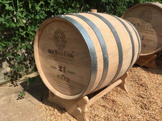 Thùng rượu gỗ sồi nhập khẩu Nga
