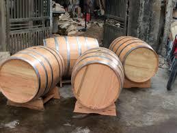 Các sản phẩm thùng rượu gỗ sồi