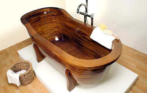 Sản phẩm bồn tắm gỗ đẹp