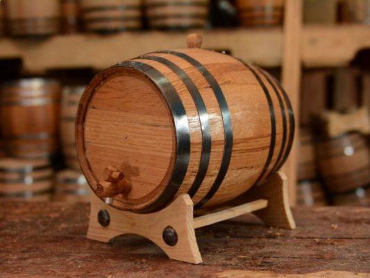 lựa chọn thùng gỗ sồi