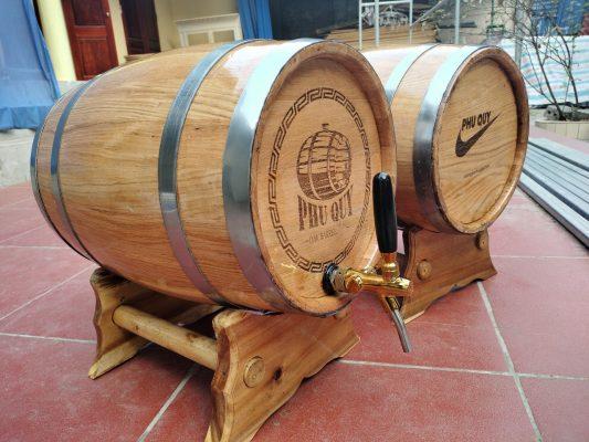 mua thùng rượu gỗ sồi ở đâu